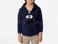Cookie Monster Logo Kids hoodie in Pakistan