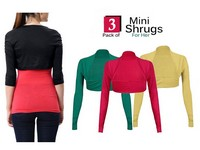 3 Mini Shrugs Price in Pakistan