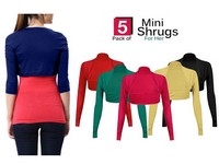 5 Mini Shrugs Price in Pakistan