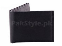 Stylish Synthetic Black Leather Wallet Price in Pakistan
