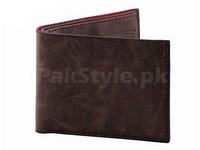Stylish Synthetic Brown Leather Wallet Price in Pakistan