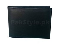 Men's Slim Bifold Pure Leather Wallet in Pakistan