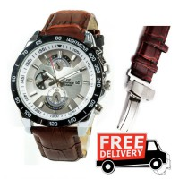 Casio Edifice Leather Strap Watch in Pakistan