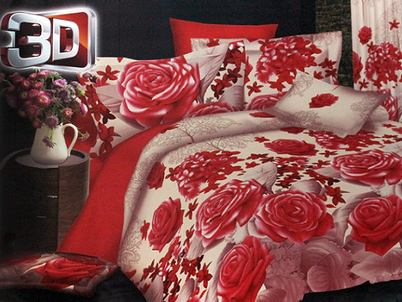 King Size 3D Bed Sheets Price in Pakistan  M005360. King Size 3d Bed Sheets Online   Tokida for