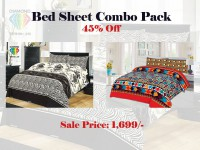 Bed Sheets Combo Offer in Pakistan