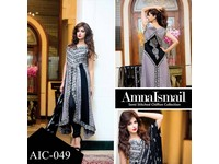 Amna Ismail Semi Stitched Chiffon Suit in Pakistan