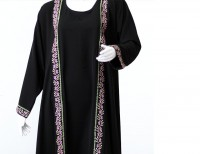 Parda Black Embroidered Abaya Price in Pakistan