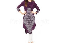 Ladies Cowl Neck Tops with Tight in Pakistan