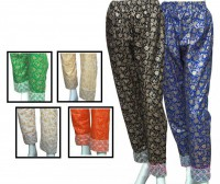 2 Printed Floral Cigarette Pants in Pakistan