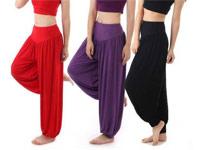 3 Women's Harem Pants in Pakistan