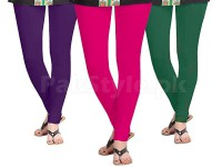3 Women's Cotton Lycra Leggings in Pakistan