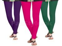 3 Women's Cotton Lycra Leggings in Pakistan
