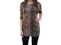 3 Ladies Leopard Print T-Shirts in Pakistan