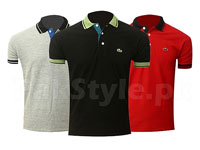 Pack of 3 Lacoste Polo Shirts P1 Price in Pakistan