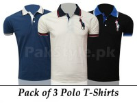 3 Big Pony Polo Shirts in Pakistan