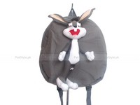 Kids Canvas Bunny Stuffed Backpack in Pakistan