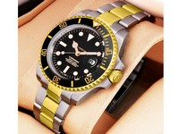 Submariner Two Tone Black Watch Price in Pakistan