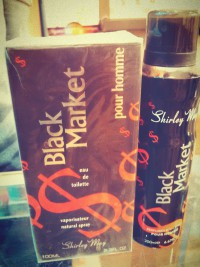 Black Market Perfume and Deodrant in Pakistan