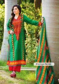 Designer Printed Lawn Suits with Lawn Dupatta in Pakistan
