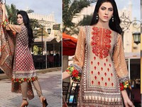 Rashid Classic Lawn with Lawn Dupatta 222-A in Pakistan