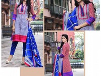 Rashid Classic Lawn with Lawn Dupatta 224-A in Pakistan