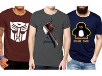 3 Graphic T-Shirts in Pakistan