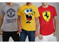 Pack of 3 Printed T-Shirts in Pakistan