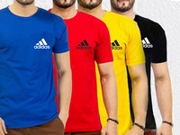 4 Adidas Logo T-Shirts in Pakistan
