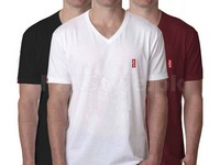 3 V-Neck Levis T-Shirts in Pakistan