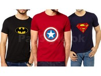 Pack of 3 Graphic T-Shirts in Pakistan