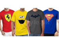 4 Printed T-Shirts Bundle Pack in Pakistan