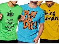 3 Half Sleeves Printed T-Shirts in Pakistan