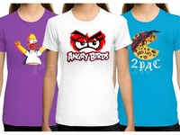 3 Ladies Printed T-Shirts in Pakistan