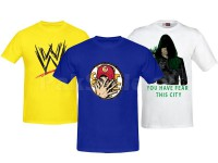 3 Printed T-Shirts Bundle Pack in Pakistan