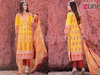 Zuni Embroidered Lawn Suit Price in Pakistan
