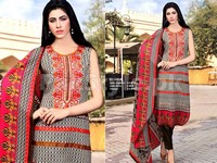 Rashid Classic Lawn with Lawn Dupatta 220-A in Pakistan