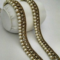 Antique Pearl Anklets  in Pakistan
