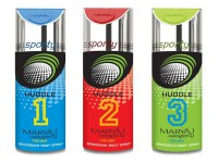3 Maryaj Sporty Huddle Deodorants in Pakistan