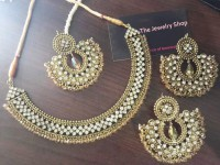 Antic Bronze Indian Jewellery Set in Pakistan