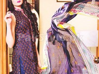Rashid Classic Lawn with Lawn Dupatta 243-A in Pakistan