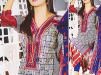 Rashid Classic Lawn with Lawn Dupatta 236-B in Pakistan