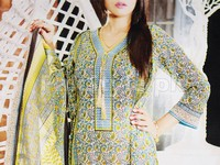 Rashid Classic Lawn with Lawn Dupatta 237-C in Pakistan