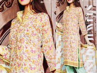 Rashid Classic Lawn with Lawn Dupatta 238-C in Pakistan