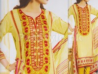 Rashid Classic Lawn with Lawn Dupatta 244-B in Pakistan