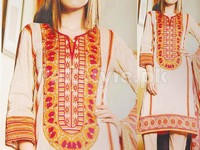 Rashid Classic Lawn with Lawn Dupatta 244-C in Pakistan