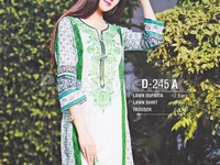 Rashid Classic Lawn with Lawn Dupatta 245-A in Pakistan