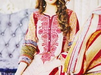 Rashid Classic Lawn with Lawn Dupatta 245-B in Pakistan