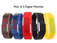 5 LED Digital Watches For Kids in Pakistan