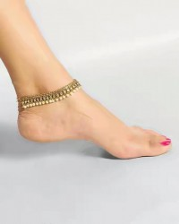 Antique Indian Pearl Pazaib (Anklet) in Pakistan