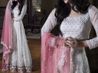 Designer Embroidered Net Suit in Pakistan